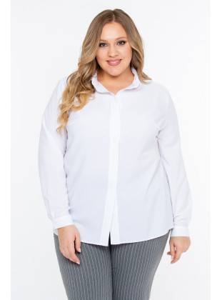 "Блуза Intikoma 318122 ""Джэн"" (белый)"