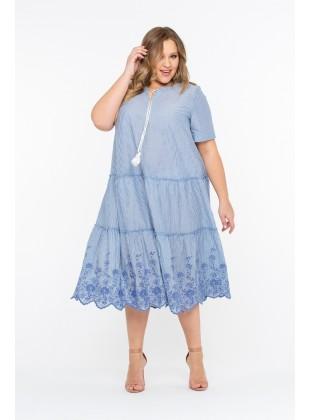 """Платье Intikoma 418114 """"""""Мерида"""" Голубой"""""""