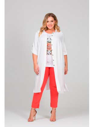 Рубашка Intikoma Полин белая