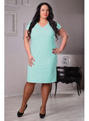 Платье Латэ 043504 ментол